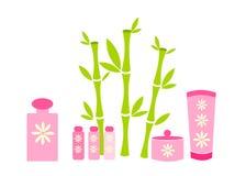 Pink cosmetics Stock Image