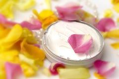 Pink cosmetics Stock Photos