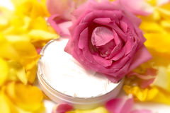 Pink cosmetics Royalty Free Stock Photo