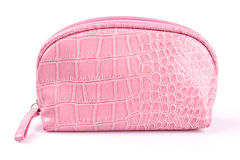 Pink Cosmetics Bag Royalty Free Stock Photo