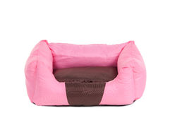 Pink cot for small pets (cats and dogs) Stock Photography