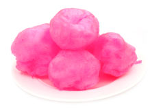 Pink cotton candy Royalty Free Stock Photography