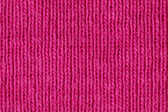 Pink cotton close up Stock Photography