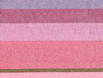 Pink cotton lined background. Stock Photos