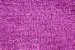 Pink cotton towel texture Royalty Free Stock Image