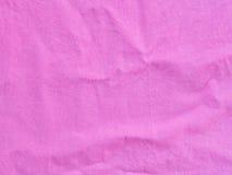 Pink cottton fabric Stock Photos