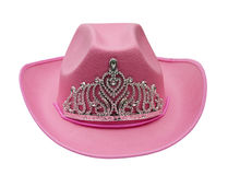 Pink cowboy hat Stock Photos