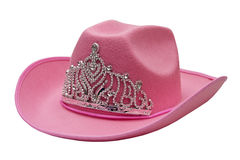 Pink cowboy hat Stock Photography