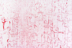 Pink cracked effect texture Royalty Free Stock Photo