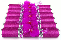 Pink Crackers Royalty Free Stock Photo