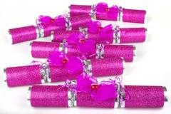 Pink Crackers Stock Photos