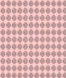 Pink craft ethno pattern Royalty Free Stock Image