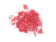 Pink crashed blush Royalty Free Stock Photography