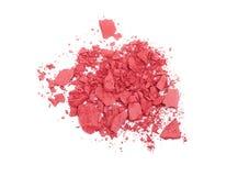 Pink crashed blush Royalty Free Stock Photography