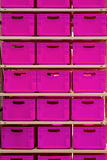 Pink crates Royalty Free Stock Image