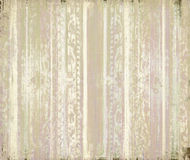 Pink and cream grunge scrollwork stripes Royalty Free Stock Images
