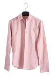 Pink creased shirt Royalty Free Stock Photography