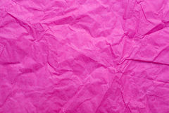 Pink crumpled Paper Royalty Free Stock Photo