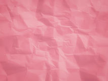 Pink crumpled paper Royalty Free Stock Image