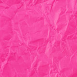 Pink crumpled paper for texture or background Royalty Free Stock Image