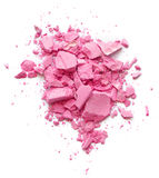 Pink Crushed Cosmetic Stock Image