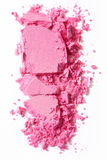 Pink, crushed eye shadow Stock Photography