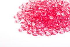 Pink crystal diamond Royalty Free Stock Image