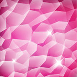 Pink Crystal structure background Royalty Free Stock Image