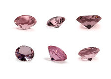 Pink Crystals Royalty Free Stock Photography