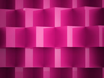 Pink cubes concept Royalty Free Stock Images