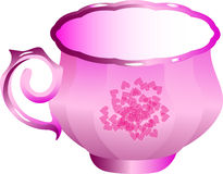 Pink cup Royalty Free Stock Photography