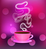 Pink cup Royalty Free Stock Photo