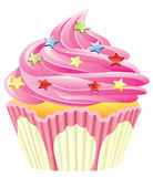 Pink cupcake Stock Photos