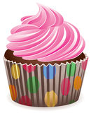 Pink cupcake Royalty Free Stock Photo