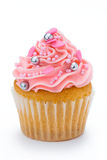 Pink cupcake Royalty Free Stock Photos