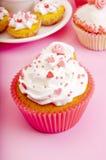 Pink cupcakes Royalty Free Stock Photos