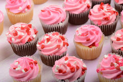 Pink Cupcakes Royalty Free Stock Photo