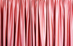 Pink curtain Royalty Free Stock Photo