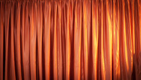 Pink curtain Stock Photos