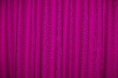 Pink Curtain Stock Photo