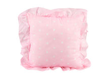 A pink cushion Royalty Free Stock Photography