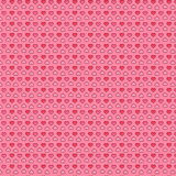 Pink Cute Hearts background Stock Image
