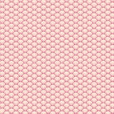 Pink 3d abstract render of fluffy balls Stock Photo