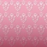 Pink damask background. Pink seamless damask background. Vector Royalty Free Stock Photography