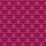 Pink damask pattern. Seamless pink damask pattern Stock Illustration