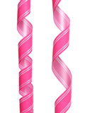 Pink decorative bow Stock Image
