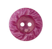 Pink decorative button on white background Royalty Free Stock Images