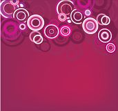 Pink decorative circle Royalty Free Stock Photography