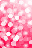 Pink defocused lights useful as a background. Good for website designs or texture Royalty Free Stock Photos