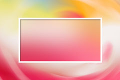 Pink delicate pastel template for a card stock photo
